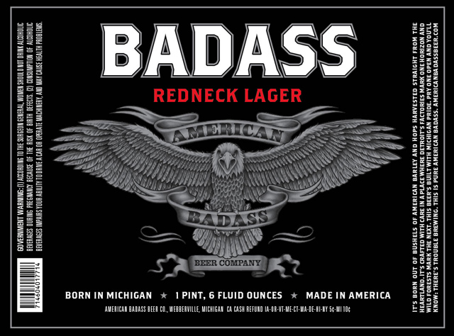 Kid Rock's American Badass Beer Drops Michigan Brewing Company