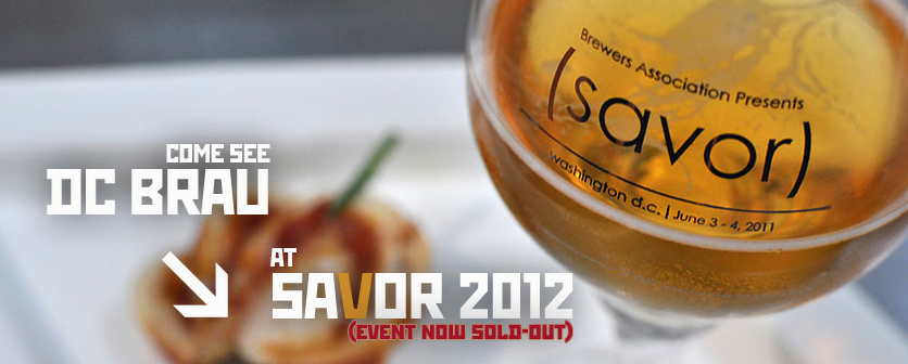 DC Brau Brewing & Meridian Pint Host pre-SAVOR Party
