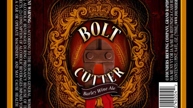 Founders 15th Anniversary Barley Wine – Bolt Cutter!