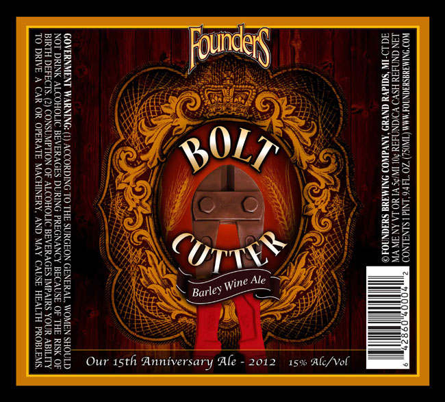 founders bolt cutter barley wine
