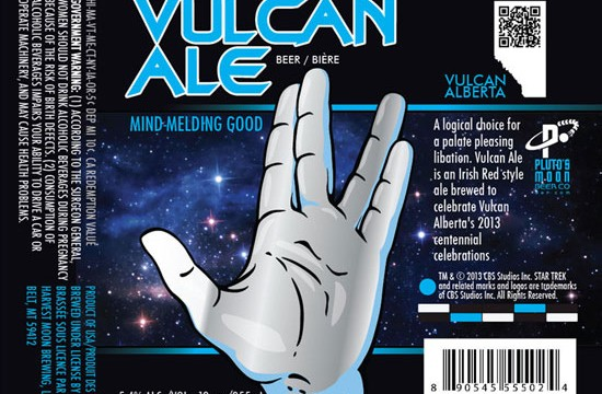 "Drink long and prosper: Vulcan Ale becomes first ""official"" Star Trek beer"