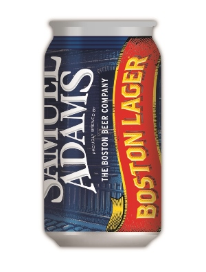 Boston Lager Can