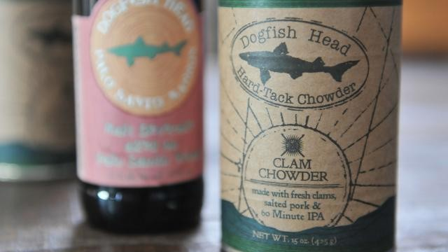 Dogfish Head releases food line