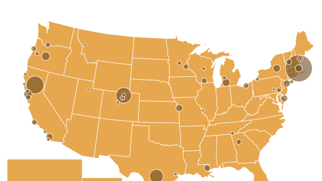 Interactive map of craft beer in America