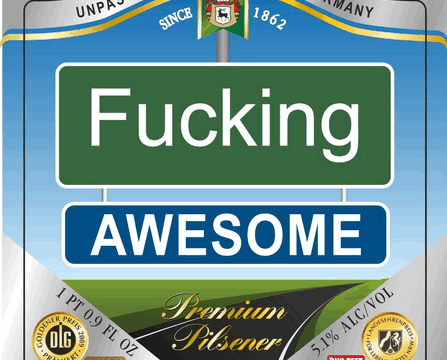 'Fucking Awesome' beer label approved in the United States