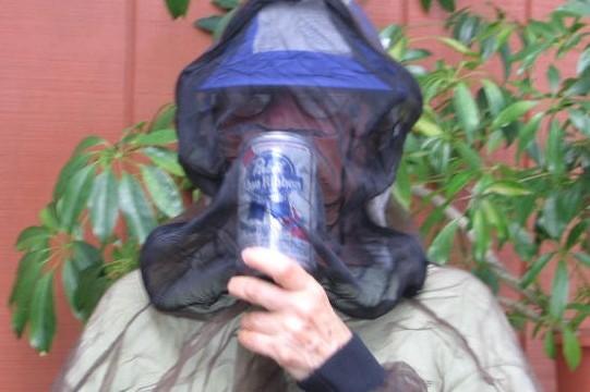 Mosquitos like beer?