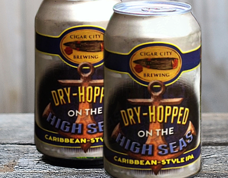All aboard the SS Dry Hop – Cigar City literally dry hopping at sea