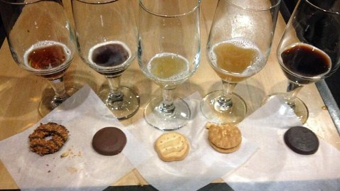 What beer goes with Girl Scout Cookies?