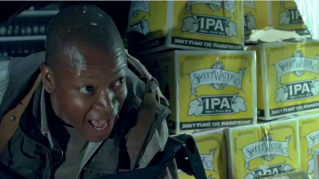 Walking Dead themed beer contains actual brains