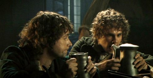 """Bilbo, have you been at the Gaffer's home brew?"""