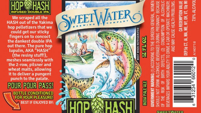 Sweetwater hashing it up with concentrated lupulin