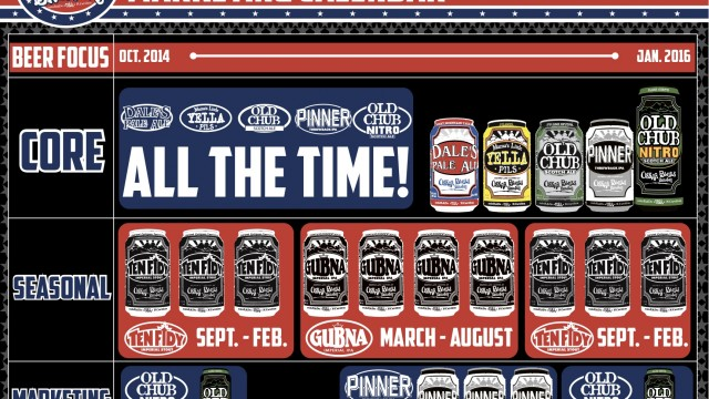 A ton of craft beer calendars in one place