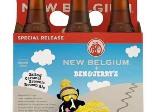 Ben & Jerry are making a beer?  What?!