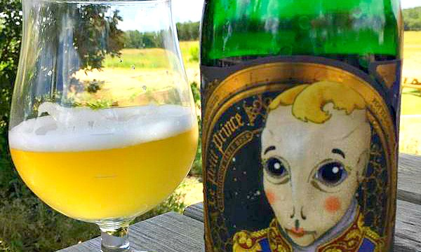 Say what?! Jester King is using green glass on purpose!