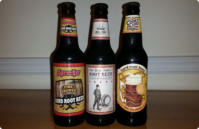 Hard root beers