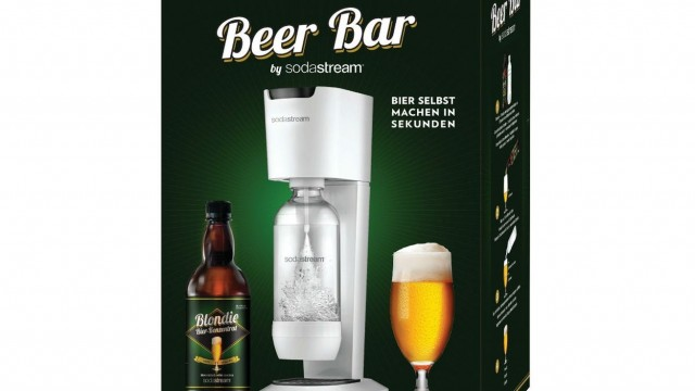 SodaStream launches an instant beer machine and NO NO NO NO